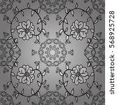 mandalas background. vector... | Shutterstock .eps vector #568925728