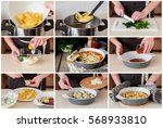 a step by step collage of... | Shutterstock . vector #568933810