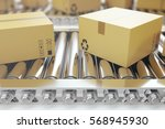 packages delivery  packaging... | Shutterstock . vector #568945930