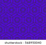 ornamental seamless pattern.... | Shutterstock .eps vector #568950040