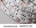 diode strip. led lights tape... | Shutterstock . vector #568951720
