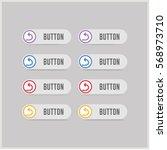 turn left arrow icon   Shutterstock .eps vector #568973710