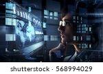 innovative technologies in... | Shutterstock . vector #568994029
