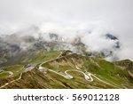 panoramic view on grossglockner ... | Shutterstock . vector #569012128