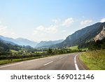 road along alps