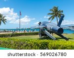 aircraft fighter at the uss...   Shutterstock . vector #569026780