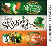 banner illustrations for...   Shutterstock .eps vector #569027020