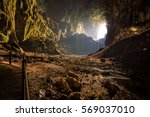 bat cave in borneo | Shutterstock . vector #569037010