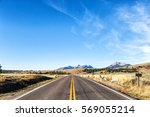 road to the mountain | Shutterstock . vector #569055214
