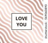 Love You   Greeting Card....