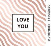 Love You   Greeting Card....
