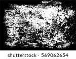 grunge black and white urban... | Shutterstock .eps vector #569062654
