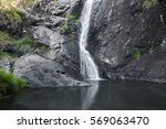 Cedar Creek waterfall in Mount Tambourine, Queensland.