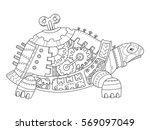 Steampunk Style Turtle....