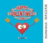 vector graphic creative happy... | Shutterstock .eps vector #569121928