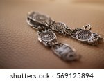 Bracelet On Wooden Table