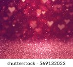 Stock photo hearts as background valentines day concept 569132023