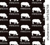 seamless vector background... | Shutterstock .eps vector #569156758