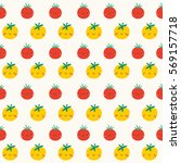 super cute seamless pattern... | Shutterstock .eps vector #569157718