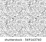 books collection  seamless... | Shutterstock .eps vector #569163760