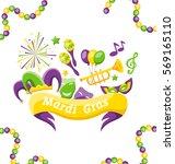illustration celebration banner ... | Shutterstock .eps vector #569165110