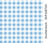 blue patterns tablecloths... | Shutterstock .eps vector #569168764