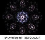 geometry of space series.... | Shutterstock . vector #569200234