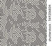 organic irregular rounded lines.... | Shutterstock .eps vector #569206834
