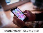 bucharest  romania   january 25 ...   Shutterstock . vector #569219710