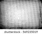 grunge black and white urban... | Shutterstock .eps vector #569235019