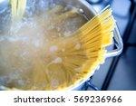 Boiling Spaghetti In A...