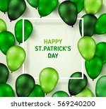 Saint Patrick's Day Poster Wit...