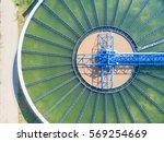 top view of recirculation solid ... | Shutterstock . vector #569254669