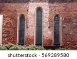 three arch long window on a...   Shutterstock . vector #569289580