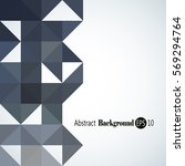 awesome geometric background... | Shutterstock .eps vector #569294764