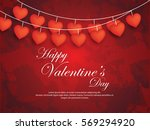 valentines day | Shutterstock .eps vector #569294920