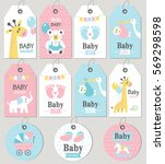 Gift Tags And Cards Baby Showe...