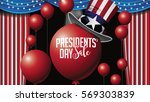 patriotic president day sale...   Shutterstock .eps vector #569303839