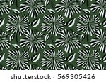 abstract ethnic seamless... | Shutterstock . vector #569305426
