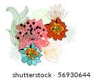 flower | Shutterstock .eps vector #56930644