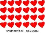 heart texture | Shutterstock .eps vector #5693083