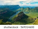 blyde river canyon 3 | Shutterstock . vector #569314600