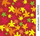 maple leaves. | Shutterstock .eps vector #5693152