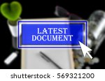 business background with blue... | Shutterstock . vector #569321200