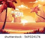 vector cartoon illustration of... | Shutterstock .eps vector #569324176