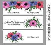 vector illustration. floral... | Shutterstock .eps vector #569328460