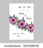 vector illustration. floral... | Shutterstock .eps vector #569328478