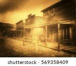 Ghost Town  Cody  Wyoming ...