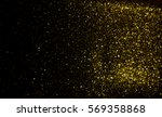 golden glitter texture... | Shutterstock . vector #569358868