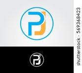 letter p logo for business | Shutterstock .eps vector #569368423